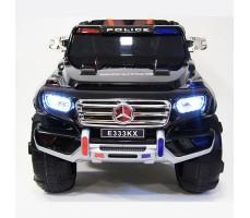 фото детского электромобиля RiverToys Merc E333KX Black спереди