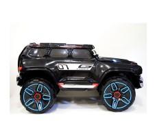 фото детского электромобиля RiverToys Merc E333KX Black сбоку