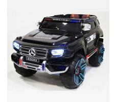 Детский электромобиль RiverToys Merc E333KX Black