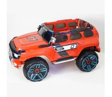 фото детского электромобиля RiverToys Merc E333KX Red сбоку