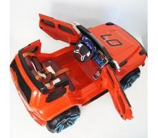 фото детского электромобиля RiverToys Merc E333KX Red сверху