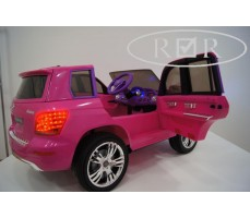 Фото электромобиля Mercedes-Benz GLK300 Pink вид сбоку
