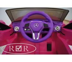 Фото руля электромобиля Mercedes-Benz GLK300 Pink