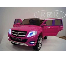 Фото электромобиля Mercedes-Benz GLK300 Pink вид спереди