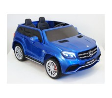 Электромобиль River Toys Mercedes-Benz GLS63 4WD Blue