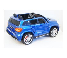 Электромобиль River Toys Mercedes-Benz GLS63 4WD Blue вид сзади