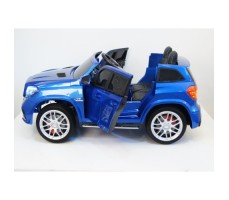 Электромобиль River Toys Mercedes-Benz GLS63 4WD Blue вид сбоку