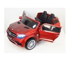 Электромобиль River Toys Mercedes-Benz GLS63 4WD Red с открытыми дверьми