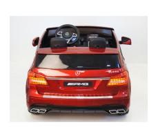 Электромобиль River Toys Mercedes-Benz GLS63 4WD Red вид сзади