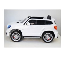 Электромобиль River Toys Mercedes-Benz GLS63 4WD White вид сбоку