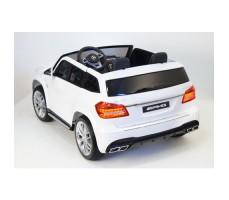 Электромобиль River Toys Mercedes-Benz GLS63 4WD White вид сзади