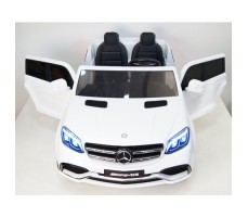 Электромобиль River Toys Mercedes-Benz GLS63 4WD White вид спереди