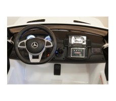 Электромобиль River Toys Mercedes-Benz GLS63 4WD White вид на переднюю панель