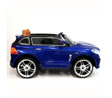 фото электромобиля Mercedes E009KX Blue сбоку