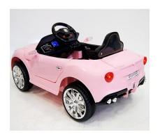 фото детского электромобиля RiverToys Mercedes O333OO Pink сзади