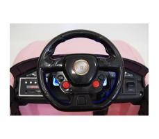 фото руля детского электромобиля RiverToys Mercedes O333OO Pink