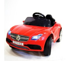 фото детского электромобиля RiverToys Mercedes O333OO Red спереди