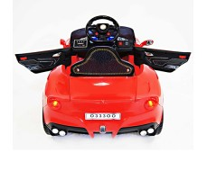 фото детского электромобиля RiverToys Mercedes O333OO Red сверху