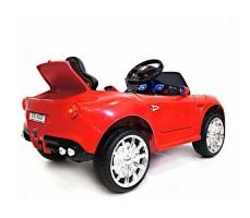 фото детского электромобиля RiverToys Mercedes O333OO Red сзади