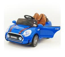 Детский электромобиль RiverToys Mini Cooper C111CC Blue