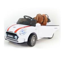 Детский электромобиль RiverToys Mini Cooper C111CC White