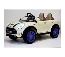 Электромобиль River Toys MiniCooper A222AA White