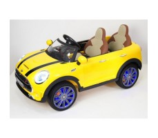 Электромобиль River Toys MiniCooper A222AA Yellow