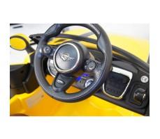 Фото передней панели электромобиля River Toys MiniCooper A222AA Yellow