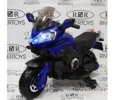 Детский электромотоцикл MOTO E222KX Blue