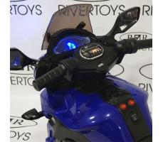 Фото руля детского электромотоцикла MOTO E222KX Blue