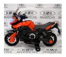 Боковое фото детского электромотоцикла MOTO E222KX Red