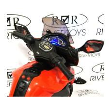 Фото руля детского электромотоцикла MOTO E222KX Red