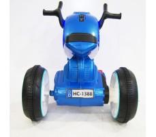 Заднее фото электромобиля Rivertoys MOTO HC-1388 BLUE