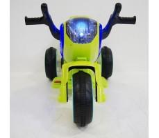 Переднее фото электромобиля Rivertoys MOTO HC-1388 GREEN