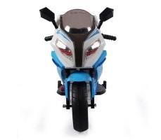Переднее фото детского электромотоцикла RIVERTOYS МОТО M111MM BLUE
