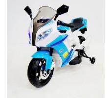 Детский электромотоцикл RIVERTOYS МОТО M111MM BLUE