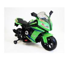 Детский электромотоцикл RIVERTOYS МОТО M111MM GREEN