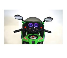 Фото руля детского электромотоцикла RIVERTOYS МОТО M111MM GREEN