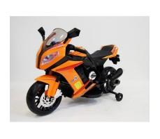 Детский электромотоцикл RIVERTOYS МОТО M111MM ORANGE