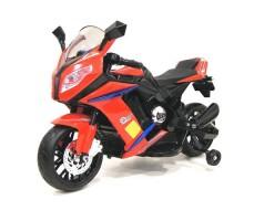 Детский электромотоцикл RIVERTOYS МОТО M111MM RED