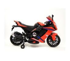 Боковое фото детского электромотоцикла RIVERTOYS МОТО M111MM RED