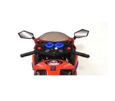 Фото руля детского электромотоцикла RIVERTOYS МОТО M111MM RED