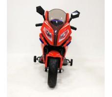 Переднее фото детского электромотоцикла RIVERTOYS МОТО M111MM RED