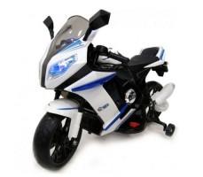 Детский электромотоцикл RIVERTOYS МОТО M111MM WHITE