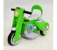 Детский электромотоцикл RIVERTOYS MOTO X222XX GREEN
