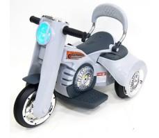 Детский электромотоцикл RIVERTOYS MOTO X222XX GREY