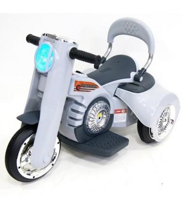 Детский электромотоцикл RIVERTOYS MOTO X222XX GREY   Купить, цена, отзывы