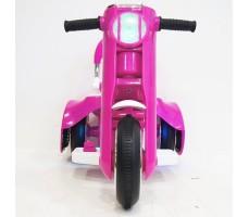 Переднее фото детского электромотоцикла RIVERTOYS MOTO X222XX PINK