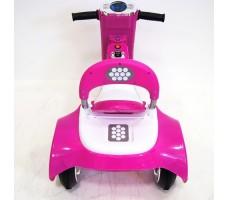 Заднее фото детского электромотоцикла RIVERTOYS MOTO X222XX PINK