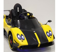 Детский электромобиль RiverToys PAGANI ZONDA CINQUE A009AA Yellow